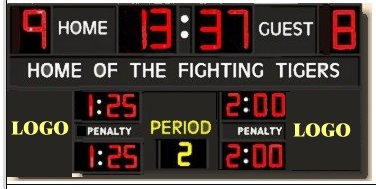 wireless hockey scoreboard