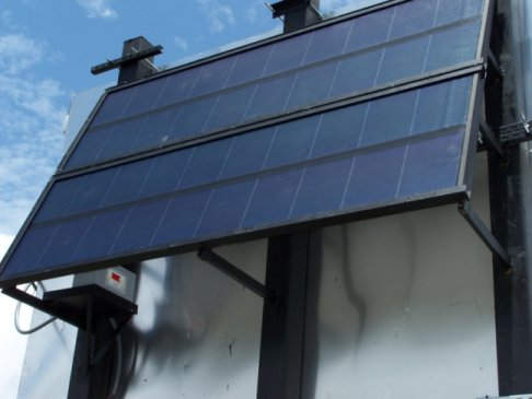 solar  power scoreboard